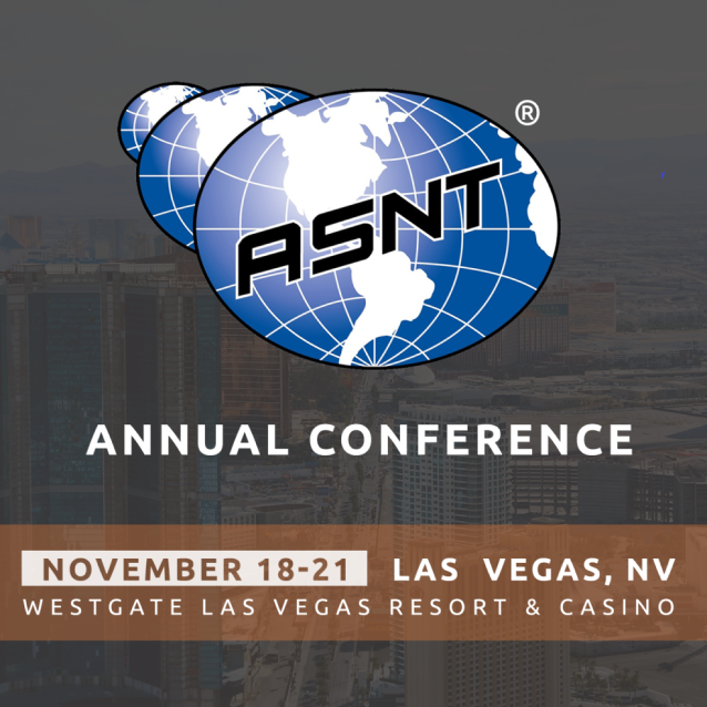 ASNT Conference and Exhibition 2019